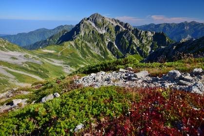 秋の立山連峰 縦走