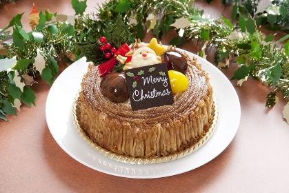 クリスマスモンブランケーキ