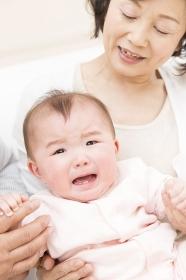 御婆ちゃんと赤ちゃん