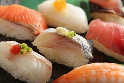 色々なネタのお寿司