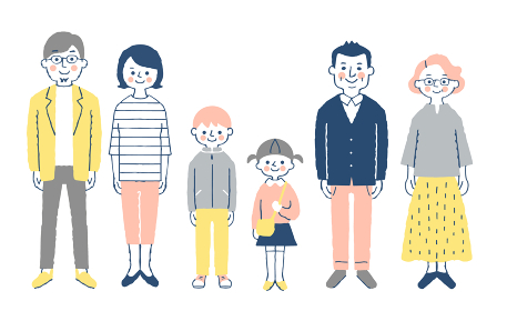 3世代家族