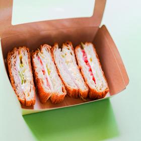 デニッシュサンド サンドイッチ ランチボックス テイクアウト