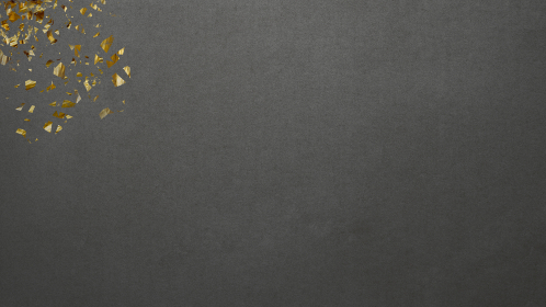 黄金キラキラ モダン横長 マットなブラック和紙背景