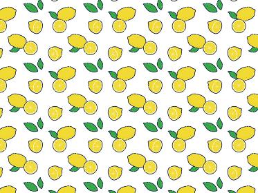 レモン背景イラスト素材 / ベクター
