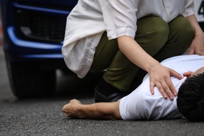 人身事故 イメージ
