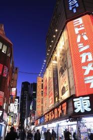 西新宿の街の夜景