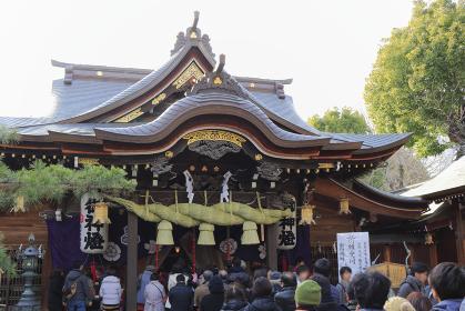 櫛田神社の初詣