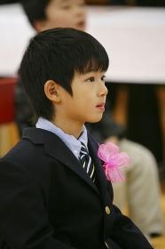 子供の入学式