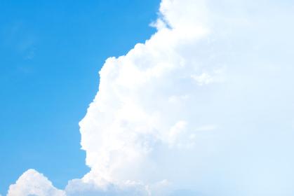 青空と雲 入道雲 3705