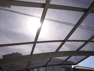 カーポートの採光屋根