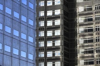 高層ビル窓壁面