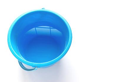 拭き掃除道具 水が入ったバケツ