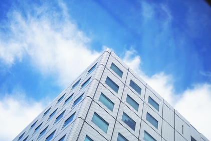 高層ビル群 都会の風景