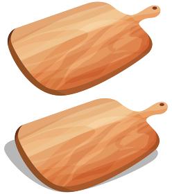 イラスト素材 まな板 カッティングボード ベクター