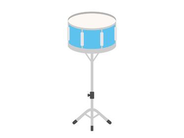 楽器のドラムのイラスト