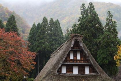 五箇山の秋