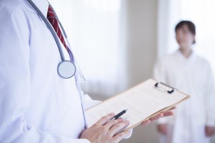 病院で働く人のポートレート