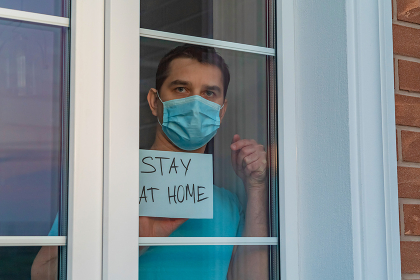 Call for self-isolation due to pandemic COVID-19