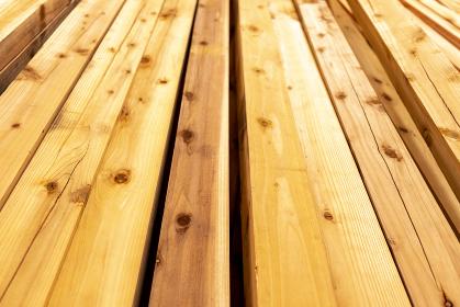 カットされた木材 あおり撮影 5188