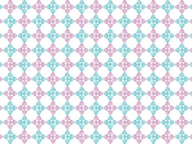 背景素材 水彩パターン 花柄 水色 ピンク