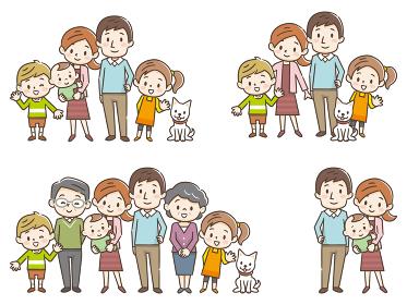 家族 三世代 セット