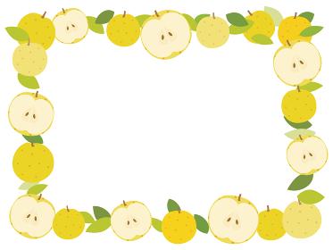 梨のフレーム 全体