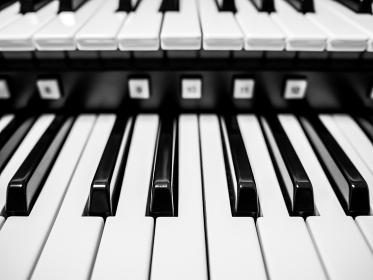 オルガンの鍵盤