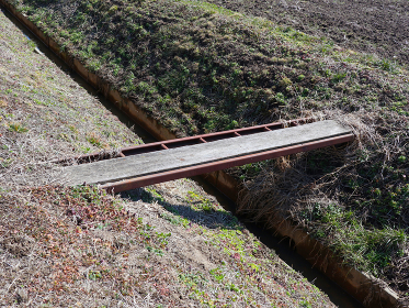 田舎の一本橋 1227