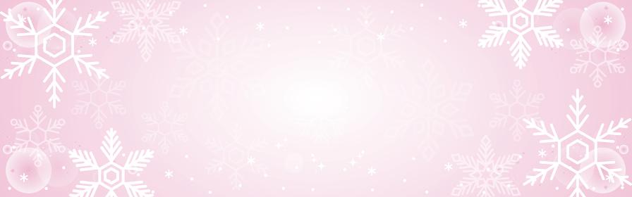 冬 雪 バナー 背景 コピースペース イラスト