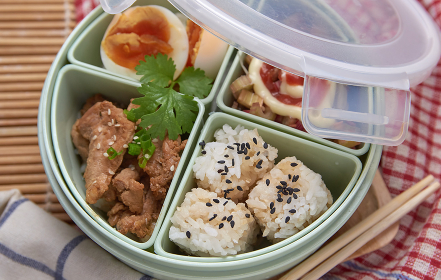 The O-Bento was meaning lunch box for the husband