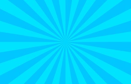 背景素材:集中線付きの青いグラデーション