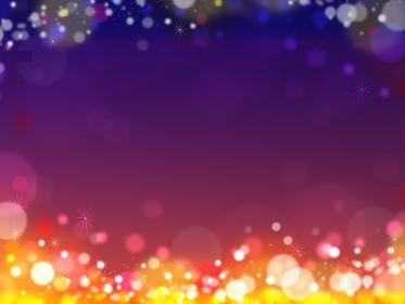 キラキラ 秋 夜空 ハロウィン ハロウィーン 背景 イラスト