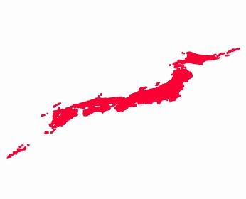 斜め視点の日の丸日本列島