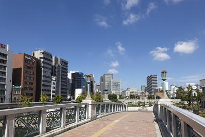 中之島公園より望む大阪の街並み