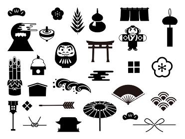 日本 和風 アイコン