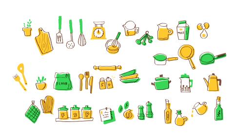 キッチン用品 材料セット