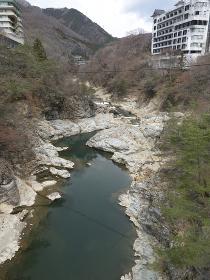 栃木県 鬼怒川と鬼怒川温泉