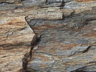 岩石の表面