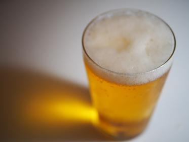 週末のご褒美ビール