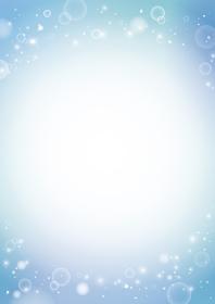 美しい水、泡のイメージ 背景素材(縦長 A3・A4比率)