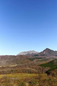 鬼女台から望む大山
