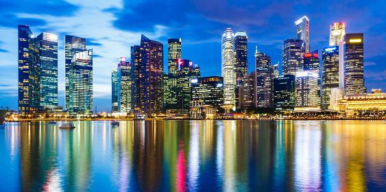Singapore, 04 February 2013: Singapore city