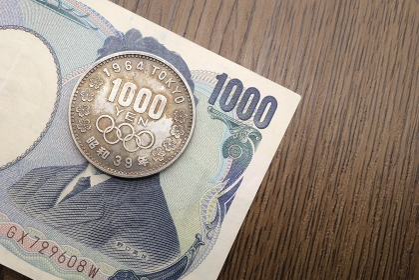 東京オリンピック記念 1000円銀貨 昭和39年(1964年)