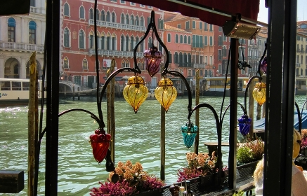 Restaurant on the Grand Canal in Venice #3