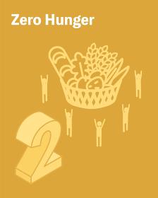 SDGs ゴール2、飢餓をゼロに