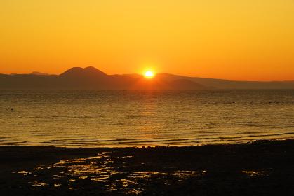 有明海の夜明けの時