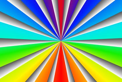 放射パターン1529