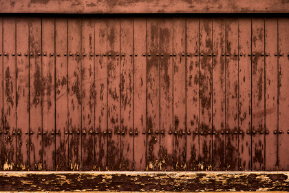 板塀 茶色 3302
