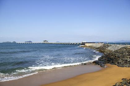 脇田海水浴場 福岡県北九州市