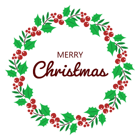 クリスマスリース、フレーム